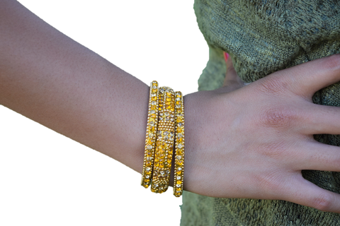 Yellow Stand Out Bracelets