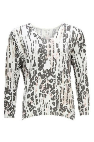 Isay clothing leopard print jumper