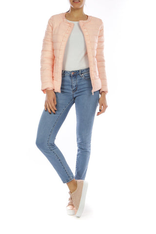 Boutique collection | Peach puffa jacket