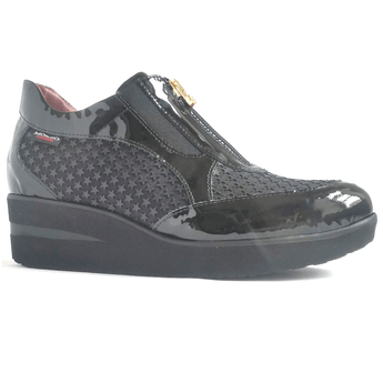 Marco Moreo shoes A500 Black zip front