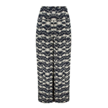 Masai clothing | Panni trousers navy and cream