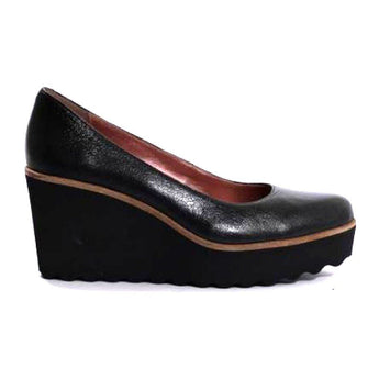 Black wedge Pedro Anton shoes 83500