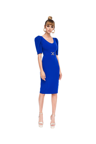 Nissa dress | Electric blue RZ9587