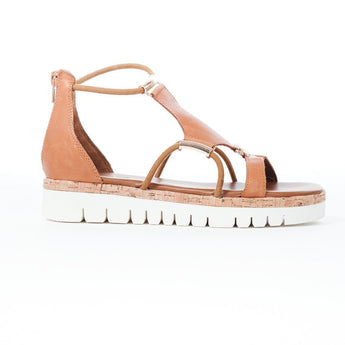 Sandals | Tan loops sandal 7903