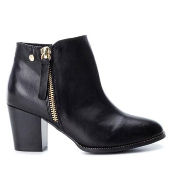 xti shoes ireland black ankle boot 7cm heel