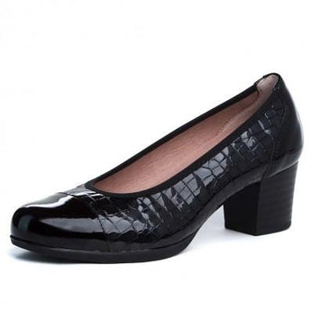 pitillos shoes navy court  1040