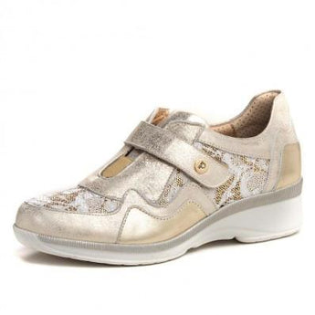 pitillos shoes gold runner 1162