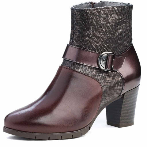 Pitillos shoes | 1279 brown ankle boot