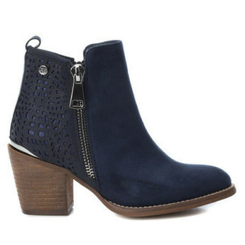XTI shoes | Navy ankle boot 48249