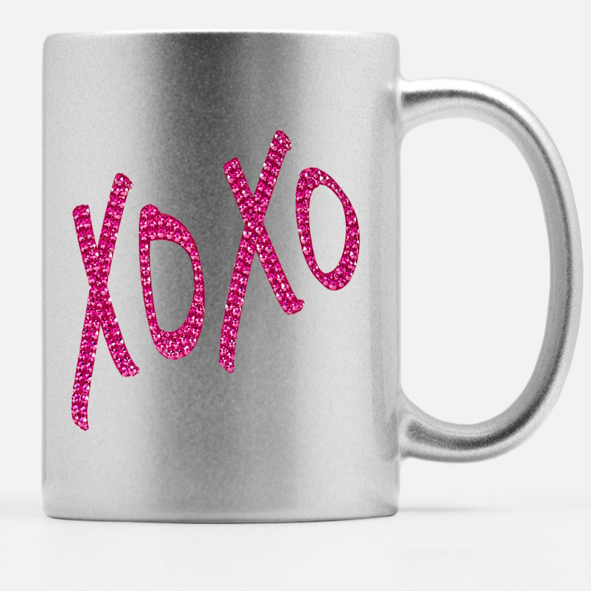 Coffee Mug - XOXO - CRYSTAHHLED