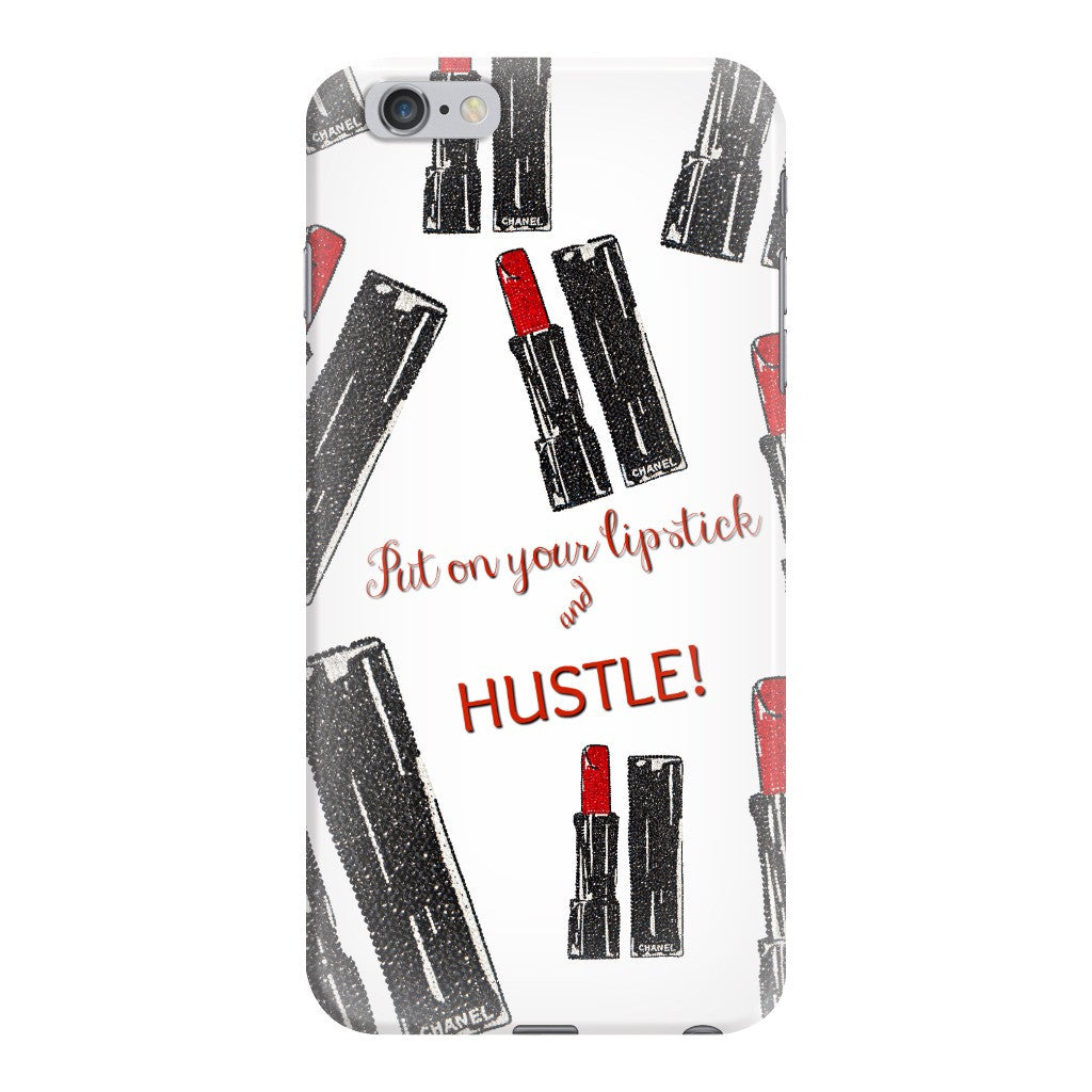 iPhone case - Lipstick & Hustle - CRYSTAHHLED