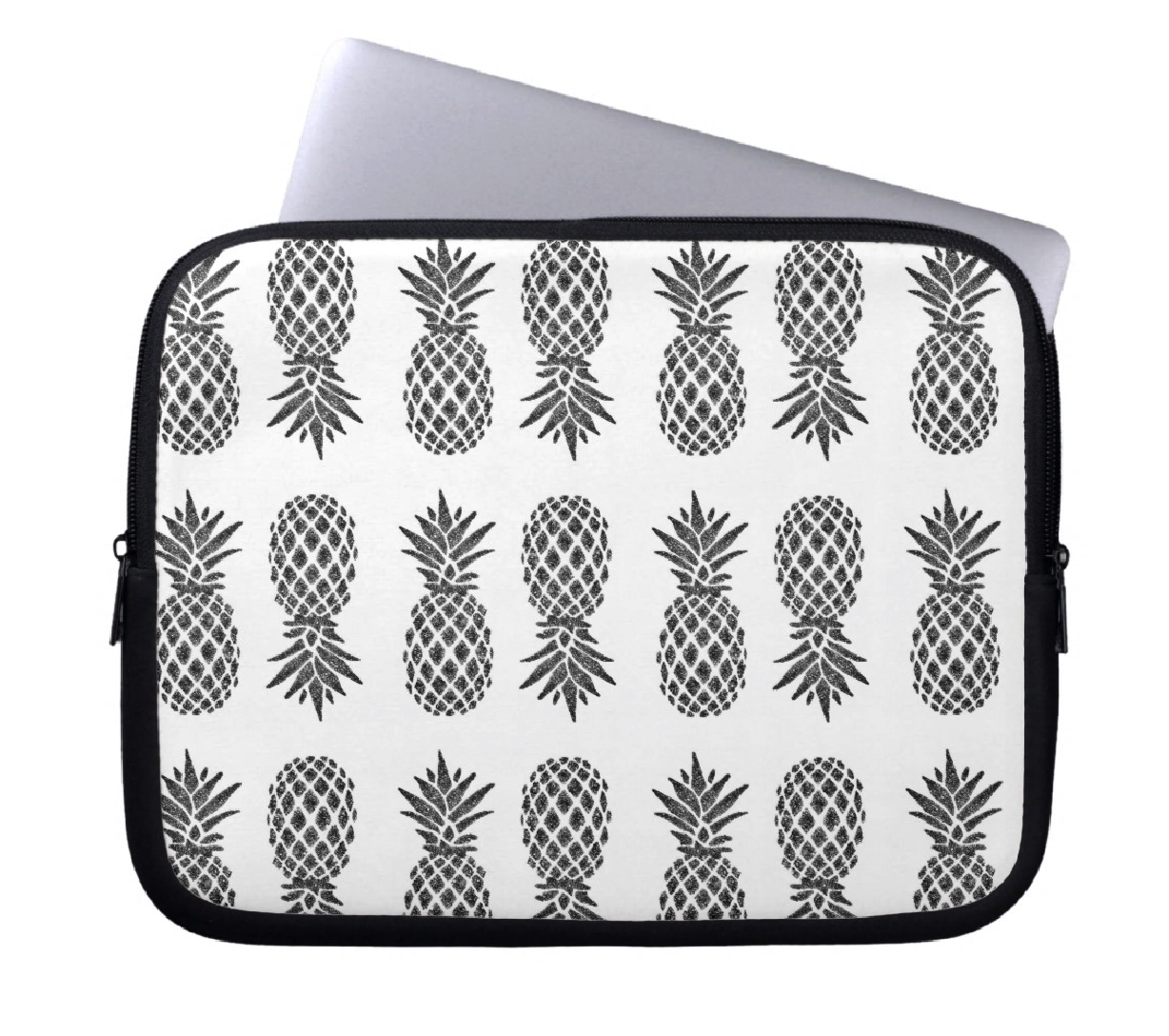 Laptop Sleeve - Pineapple - CRYSTAHHLED