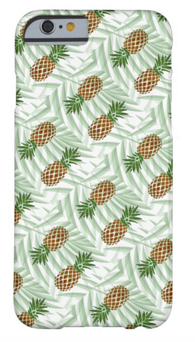 iPhone Case - Pineapples and Palms - CRYSTAHHLED