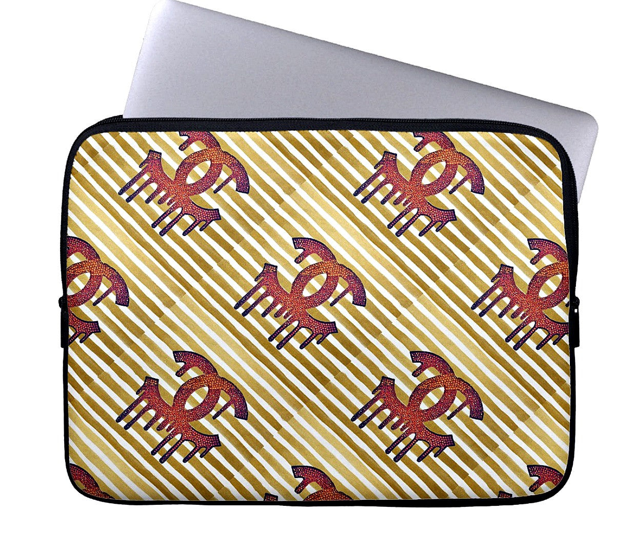 Laptop Sleeve - Multi Dripping C's - CRYSTAHHLED