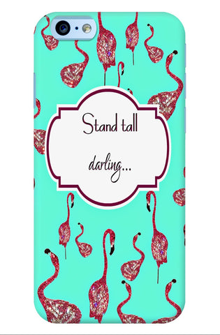 iPhone Case - Stand Tall Darling - Teal - CRYSTAHHLED