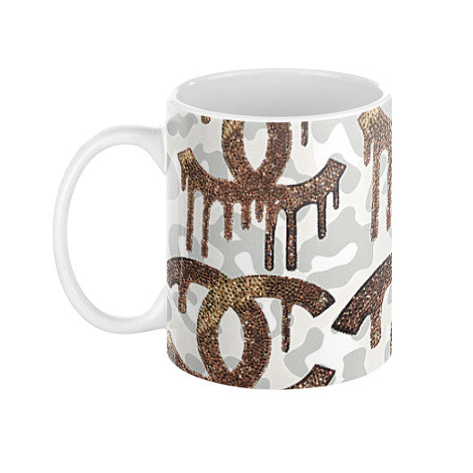 Coffee Mug - Dripping C's - CRYSTAHHLED