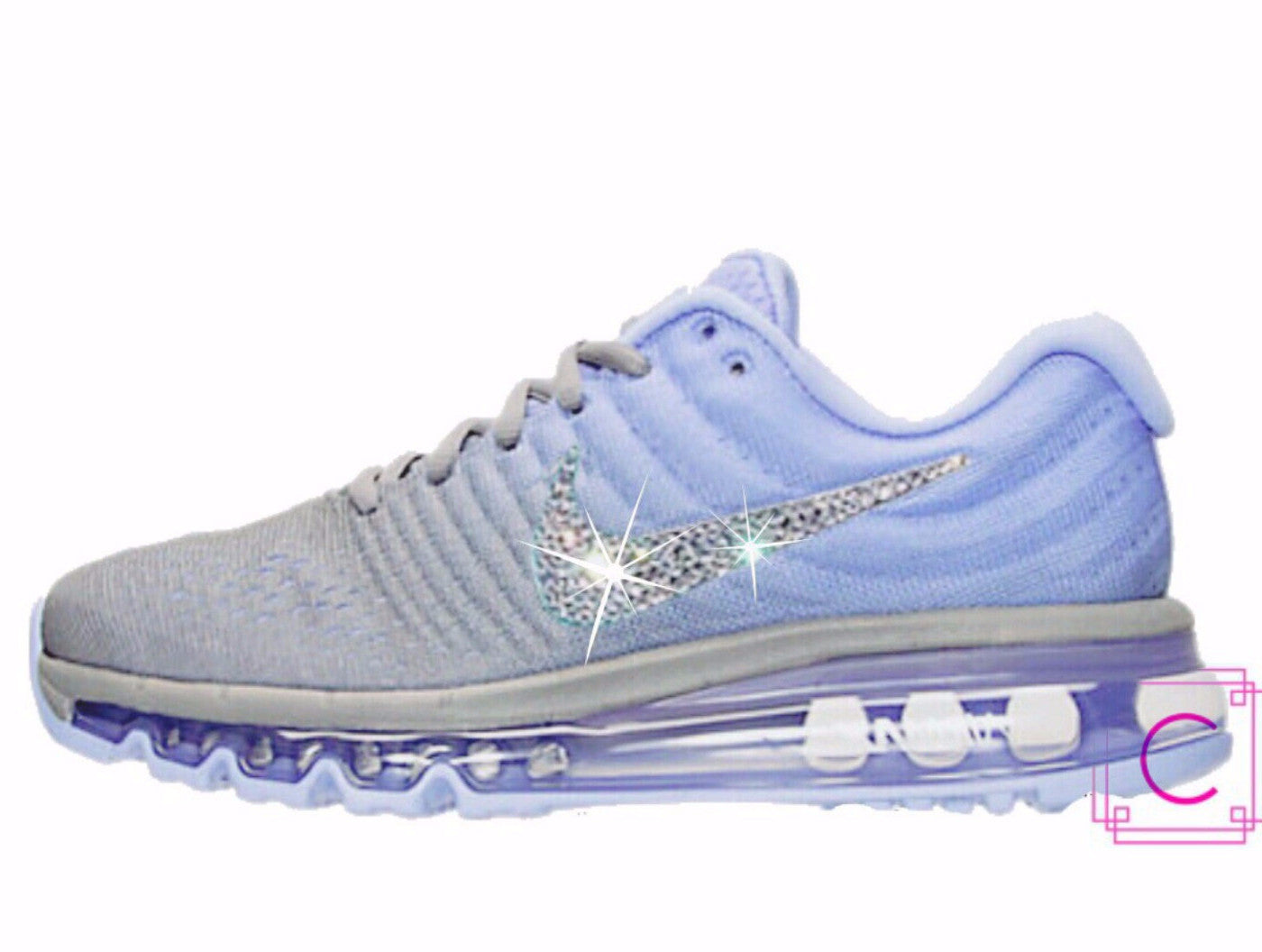 2017 Womens Nike Air Max with SWAROVSKI® Crystals 606129e81