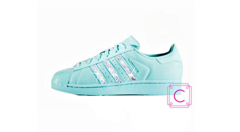 Women's Adidas Original Superstar Multi with SWAROVSKI® Xirius Rose Crystals - CRYSTAHHLED