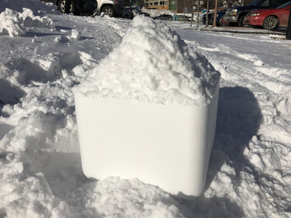 Box O' Snow ~17 lbs of Real Snow