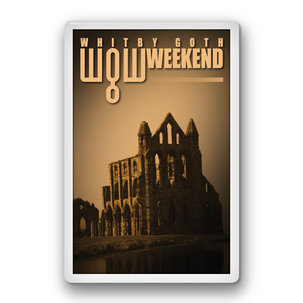 Fridge Magnet - Whitby Abbey