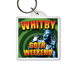 Keyring - Retro Screaming Woman (Square)