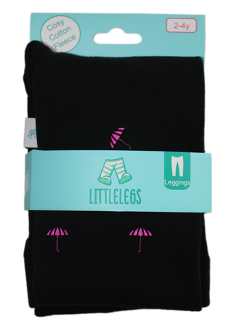 Umbrella Fleece Leggings - LG FL01