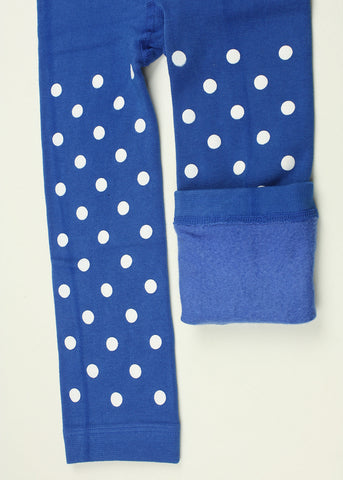 Spotty Fleece Leggings (2 colours)