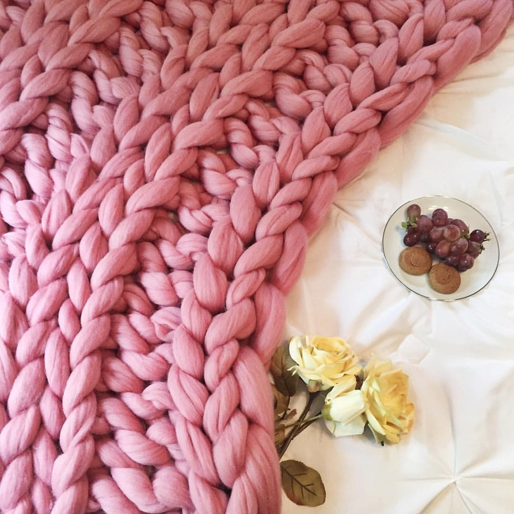 Think Pink | 5 Chunky Knit Products That Will Make You Swoon