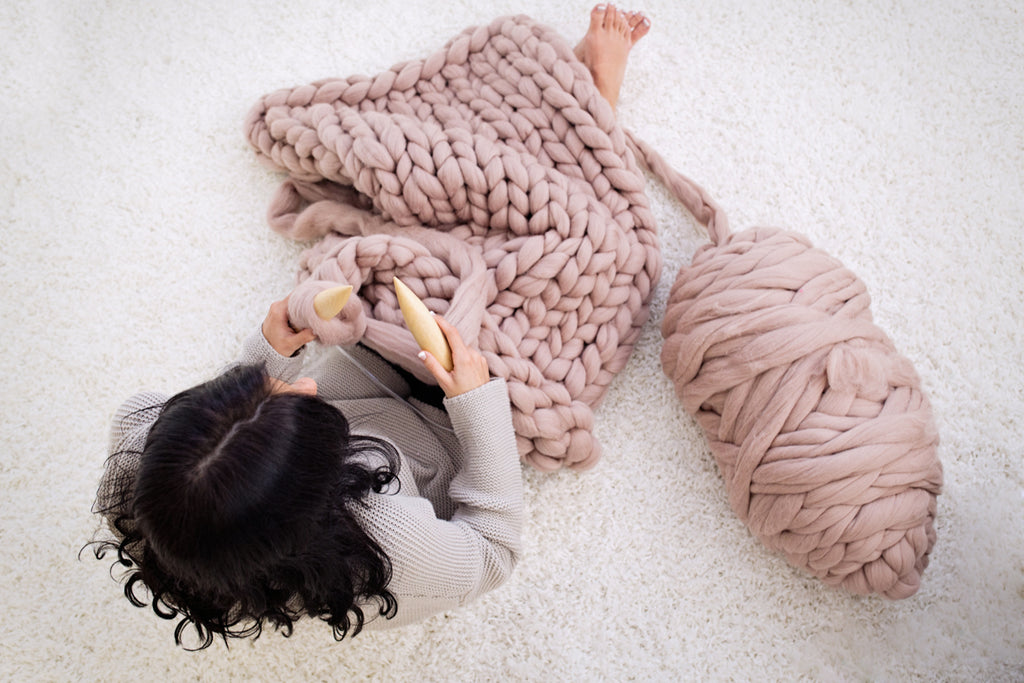 5 Tips on Making a Chunky Merino Blanket