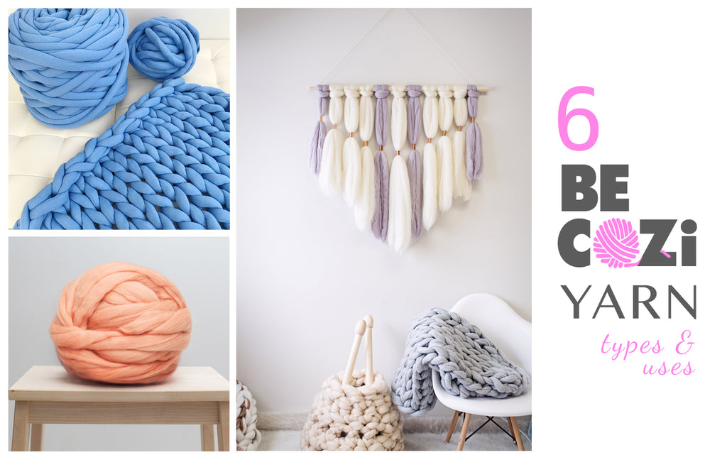 Six Becozi Yarn Types And Uses