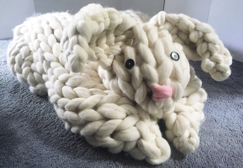 How To Arm Crochet Your Own Dog Bed Becozi