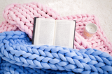 Chunky Cotton Tube Yarn Throw Blanket