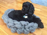 DIY Knitting Kit for a Dog Bed