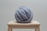 Super Chunky 100% Merino Wool, Gray colors