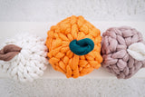Pumpkin Pillow, Merino wool