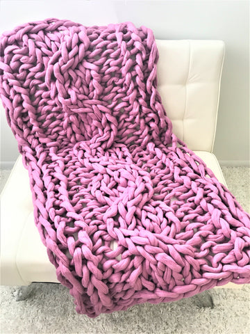 Felted Merino wool blanket, 30x60 inches