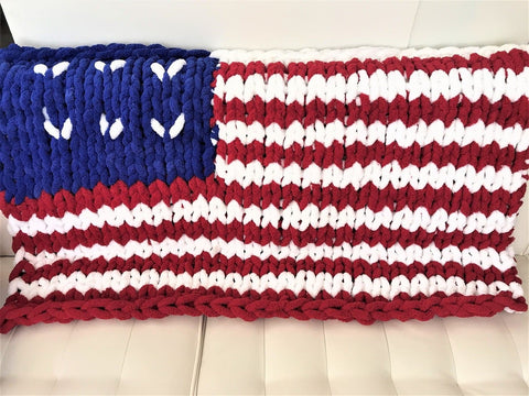 American flag blanket, Video tutorial
