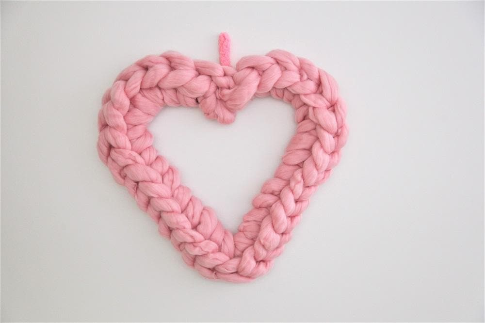DIY KIT: Heart Shape Wreath