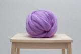 Round Pillow, Merino wool