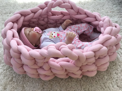 Baby Nest made with Tube Yarn