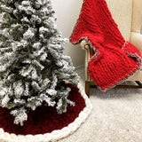 Christmas Tree Skirt, Two colors