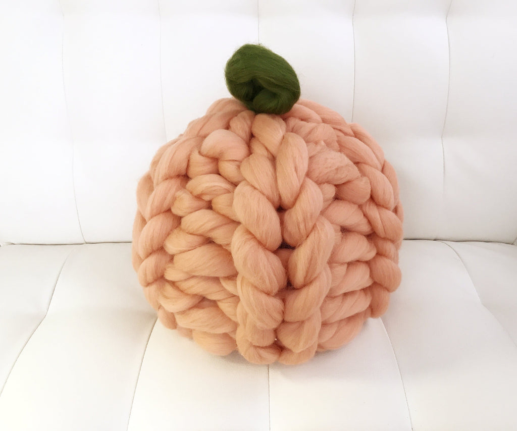 Merino wool pumpkin