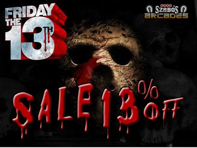 Friday 13th sale 13% off