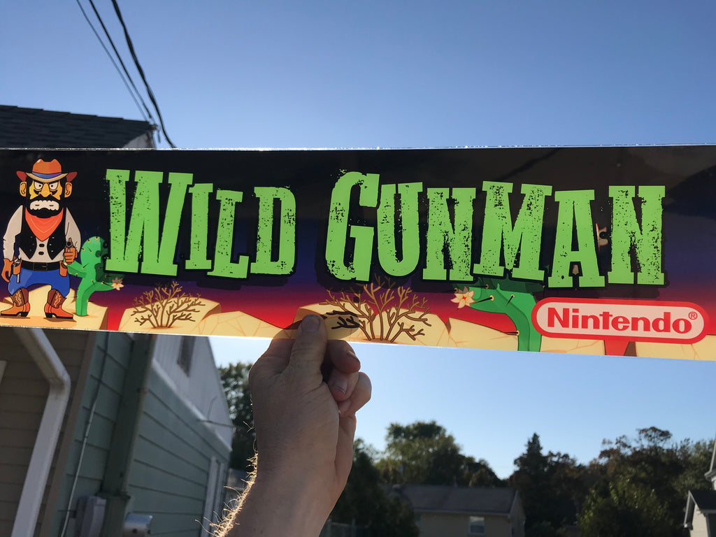 NOW AVAILABE! custom Wild Gunman Marquee