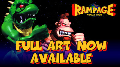 Rampage World Tour Full Art Now REMASTERED & AVAILABLE