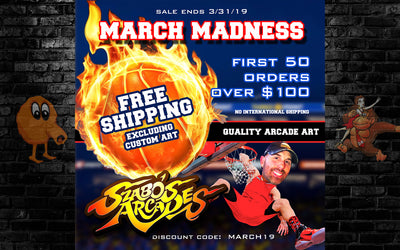 March Madness Free shipping