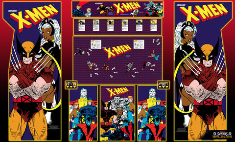 Xmen 6 player arcade full Kit ( Now Available to order )