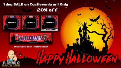 Happy Halloween Sale 20% off Castlevania art