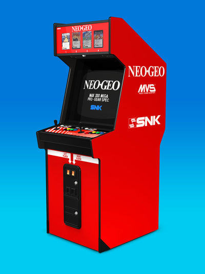 Neo Geo MVS-4 upright sides and front art Now available!