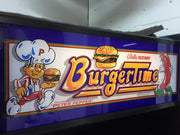 Burger Time - Marquee